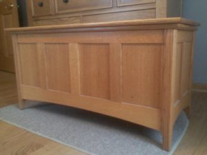 Blanket Chest - Quartersawn Oak